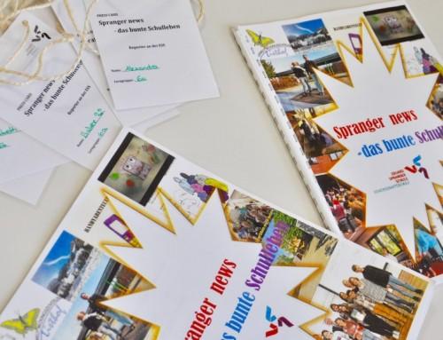 """Präsentation des Jahresthemas """"Medien in meinem Leben"""" der Lerngruppen 6"""