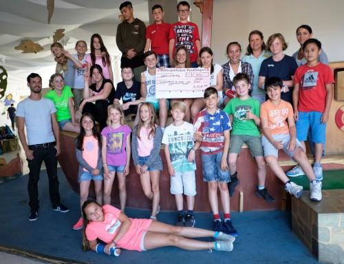 Spendensammelaktion der 5a für die Kinderklinik Tübingen