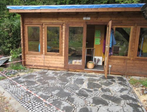 Die SchulHof-Hütte am Listhof