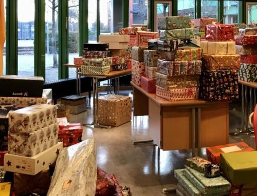 Weihnachtspakete-Aktion in die Partnerstadt Szolnok