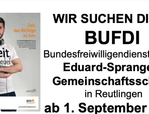BUFDI an der ESS ab 1. September 2021